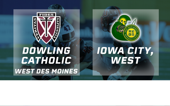 2016 Football Class 4A Final (Dowling Catholic, West Des Moines vs. Iowa City, West) - Digital Download