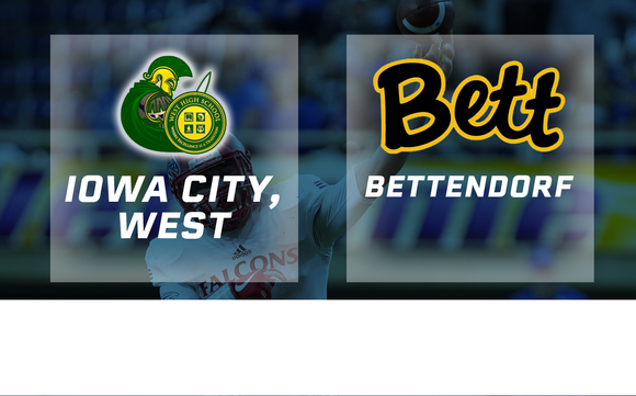2017 Football Class 4A Semifinal (Iowa City, West vs. Bettendorf) - Digital Download