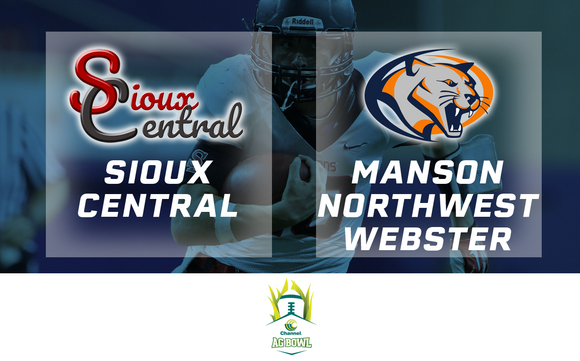 2017 Football Channel Seed Ag Bowl (Sioux Central vs. Manson Northwest Webster) - Digital Download
