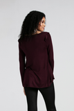 Organic Womens Tops & Blouses-Bamboo Clothing-Eco Friendly-LNBF USA