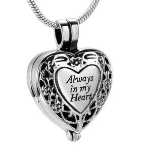 Always In My Heart Locket - Urn Necklace