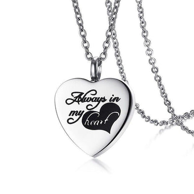 Always In My Heart - Urn Necklace