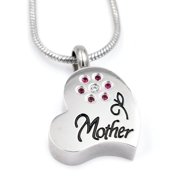 Mother In My Heart - Urn Necklace