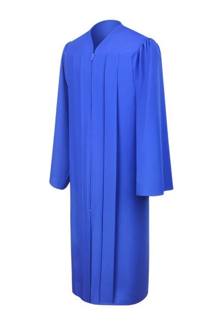 Matte Royal Blue Choir Robe - Church Choir Robes - ChoirBuy