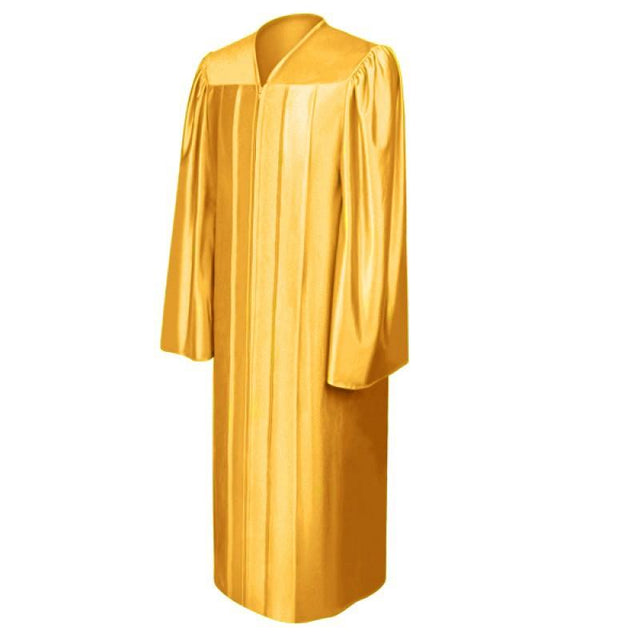 Shiny Antique Gold Choir Robe - Church Choir Robes - ChoirBuy