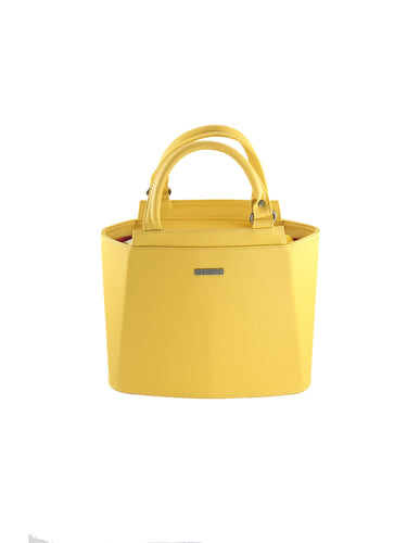 Cartera Piramidal Mini Amarillo - Parchita | Paciflora