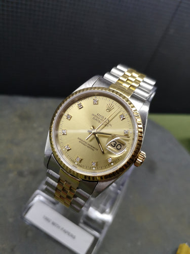Rolex DateJust Diamond Dial 1992