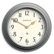 Large Decorative Mid-Grey Wall Clock - Newgate Westhampton WEST117PGY