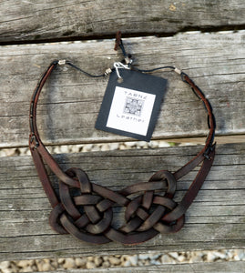 Chunky Celtic knot necklace