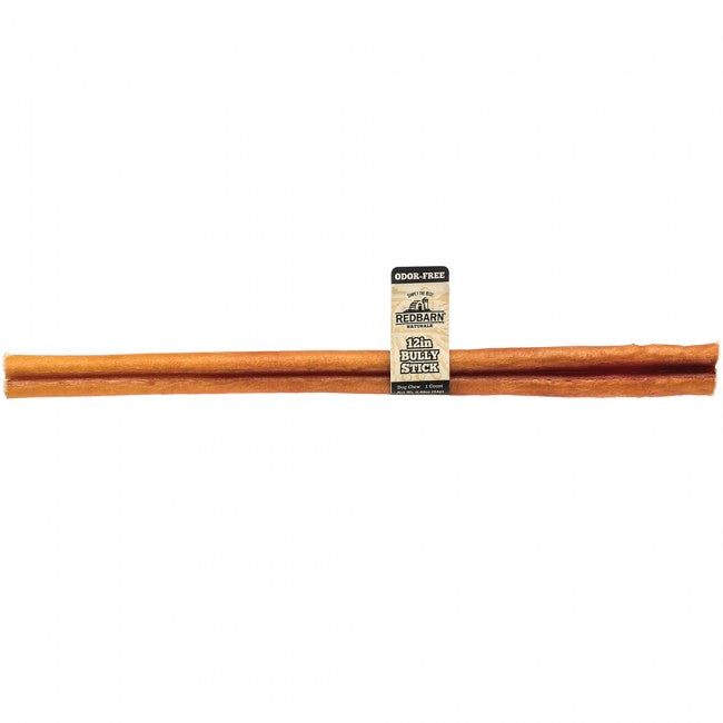 "BULLY STICK ODORLESS 12"" RED BARN"