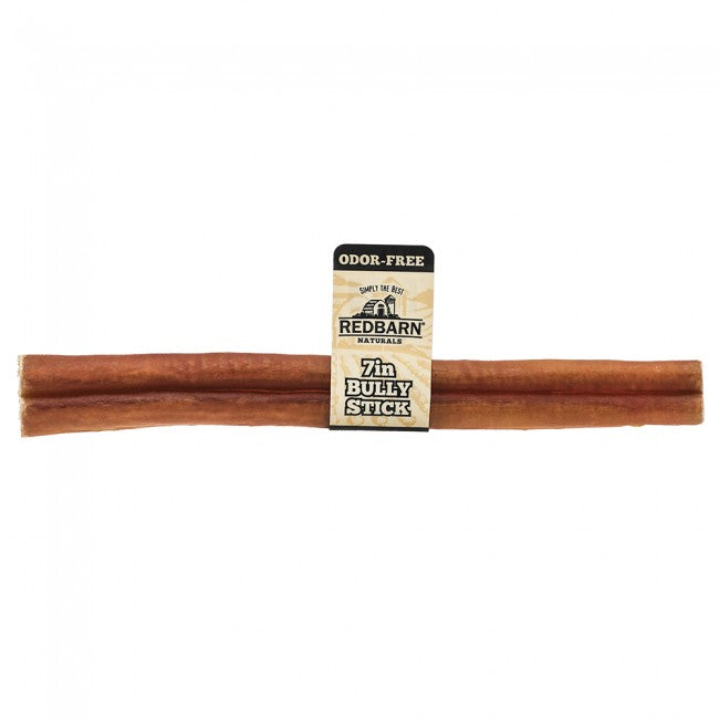 "BULLY STICK ODORLESS 7"" RED BARN"