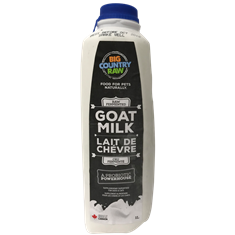GOAT MILK 1LL RAW UNPASTEURIZED  BIG COUNTRY RAW