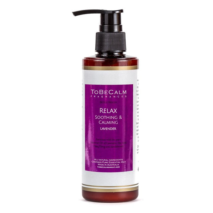 Relax - Lavender & Sandalwood - Body Wash