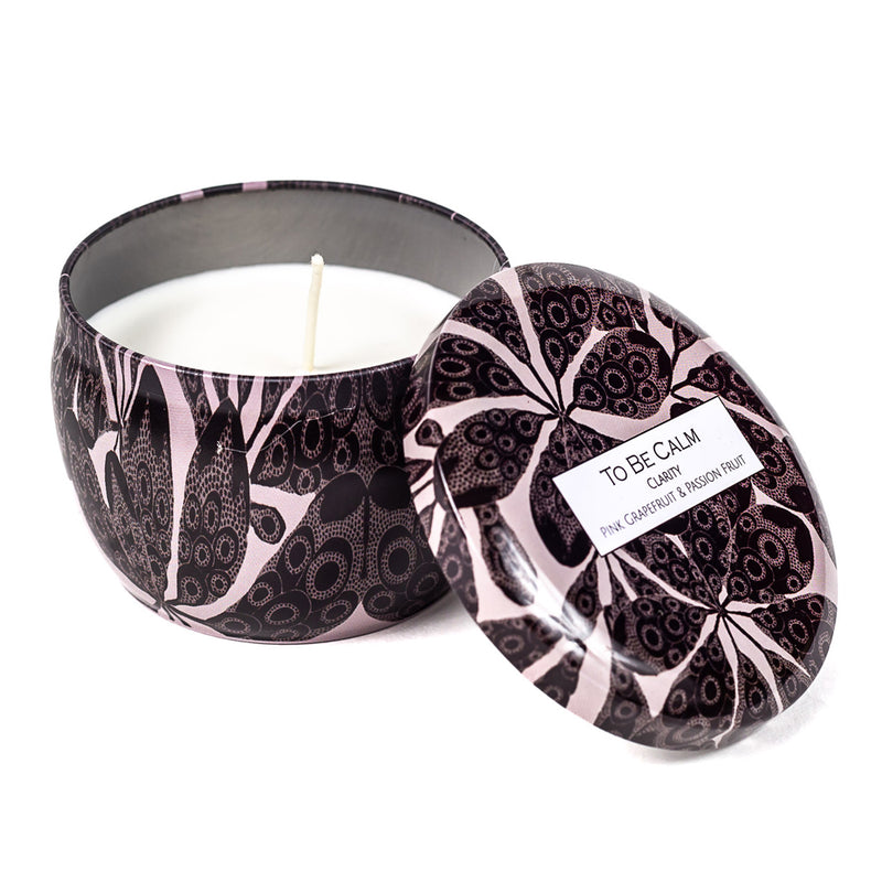 Clarity - Pink Grapefruit & Passionfruit - Mini Candle