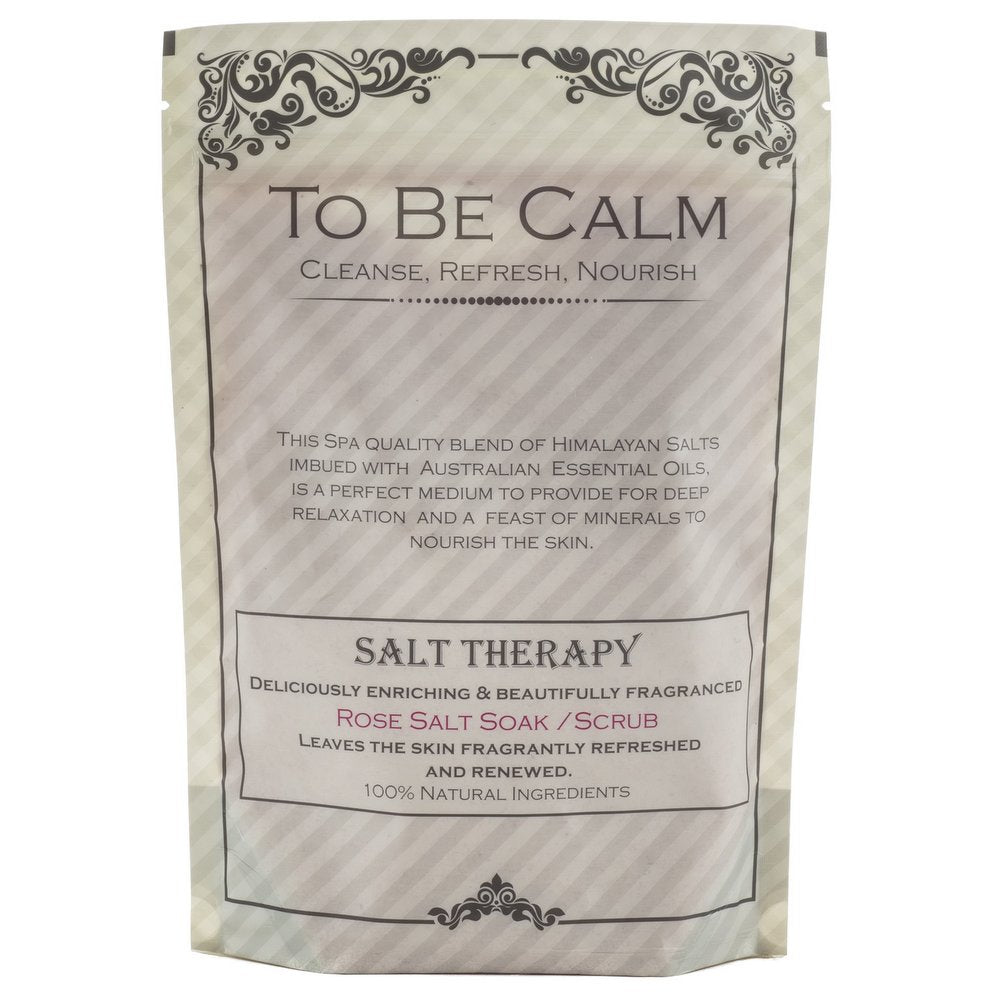 Rose - Rose Geranium - Salt Soak/Scrub Packet