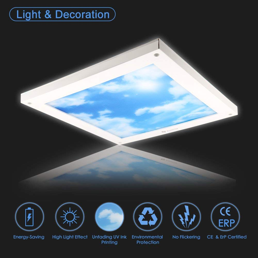 18W Dimmable LED Ceiling Light (30x30cm) - Awenia