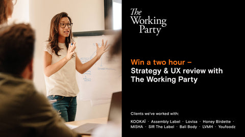 Win a 2-hour strategy session with The Working Party - She Mentors