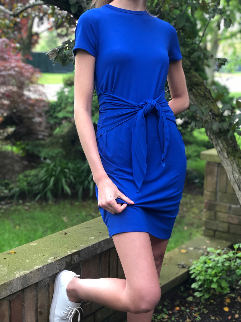 Lola Jersey Dress Royal Blue
