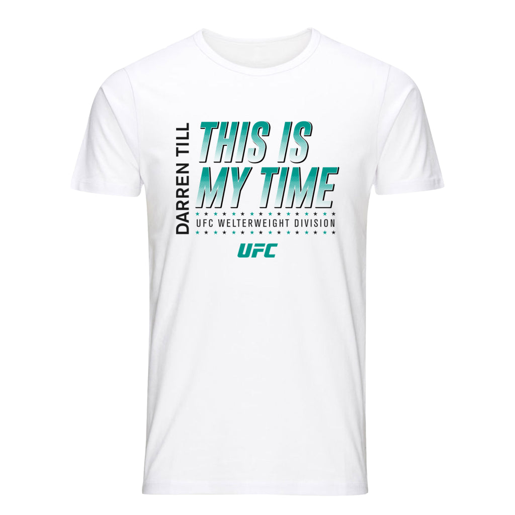 UFC Darren Till This is My Time T-shirt -White