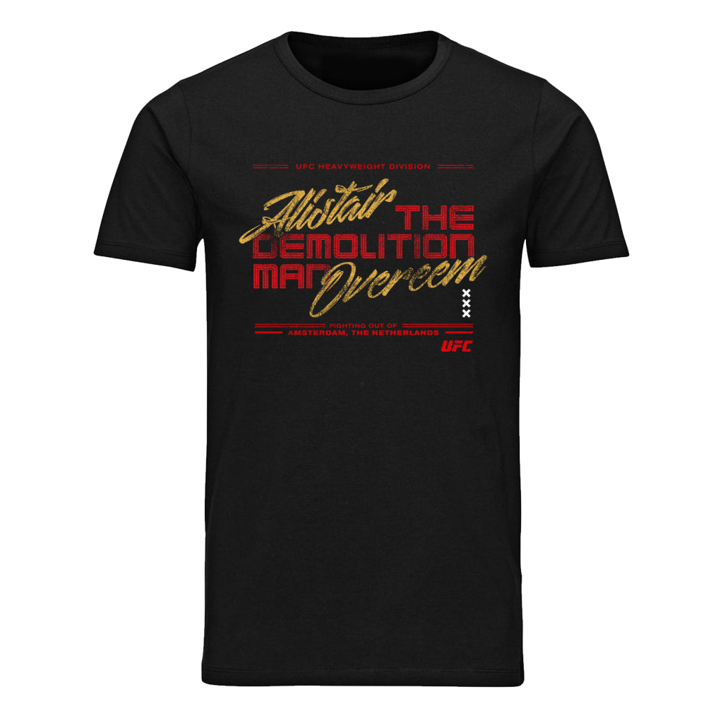 "UFC Alistair ""The Reem"" Overeem Graphic T-Shirt- Black"