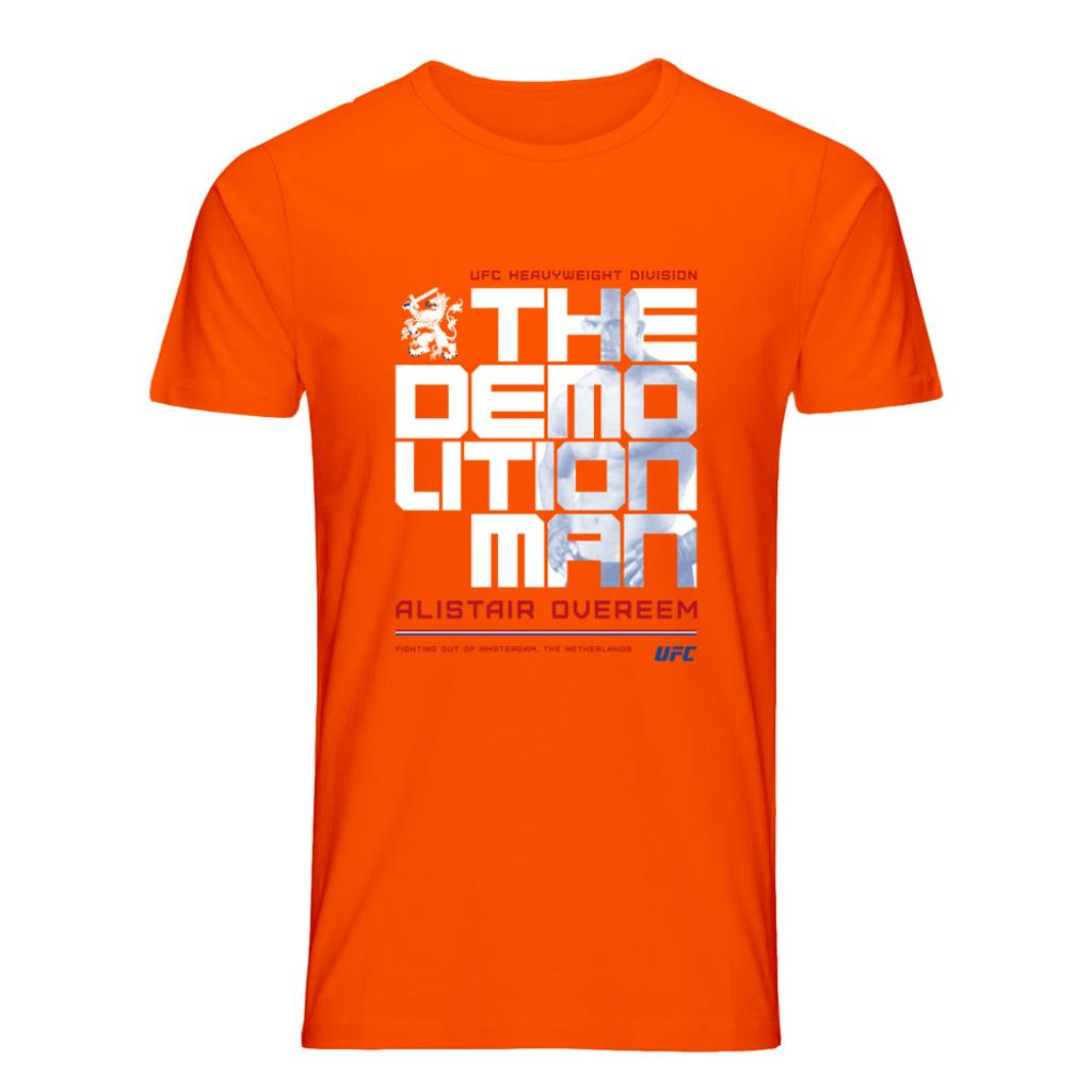 "UFC Alistair ""The Reem"" Overeem Icon T-Shirt- Orange"