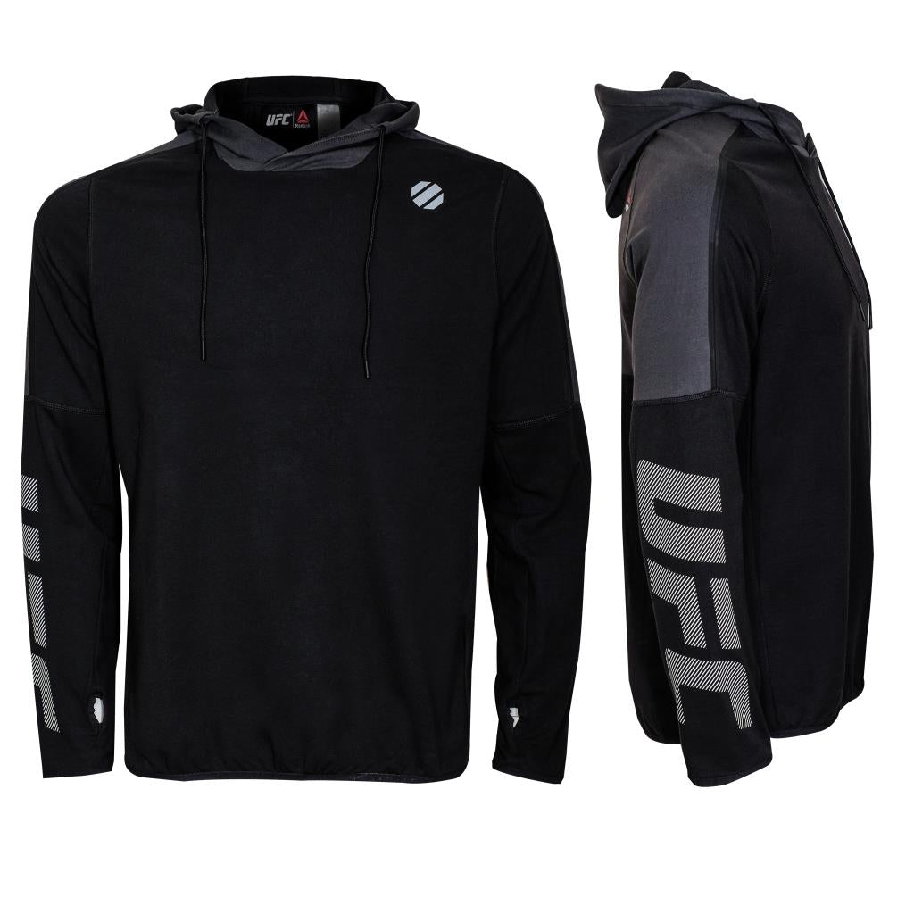 Reebok UFC Training Pullover Hood-Black