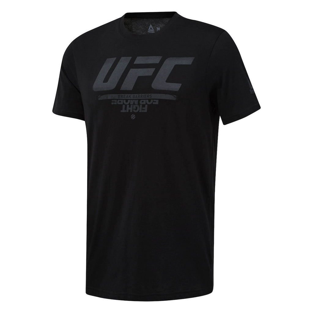 Reebok UFC Fan Gear Logo Tee - Black