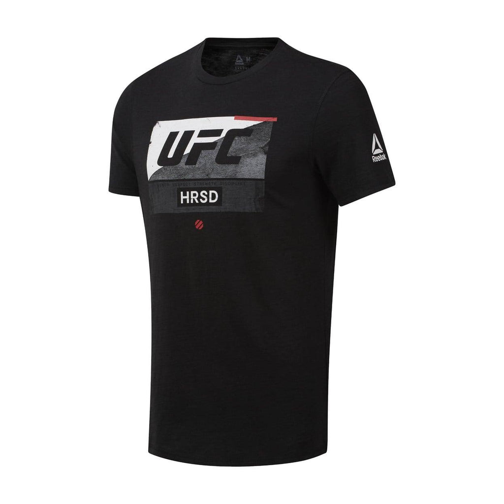 Reebok Black UFC Fight Week T-Shirt -Black