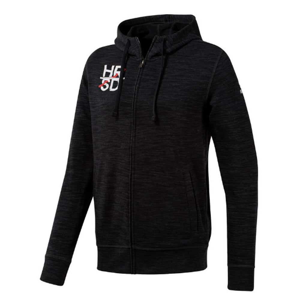 Reebok UFC Fight For More Full Zip Hoodie - Black
