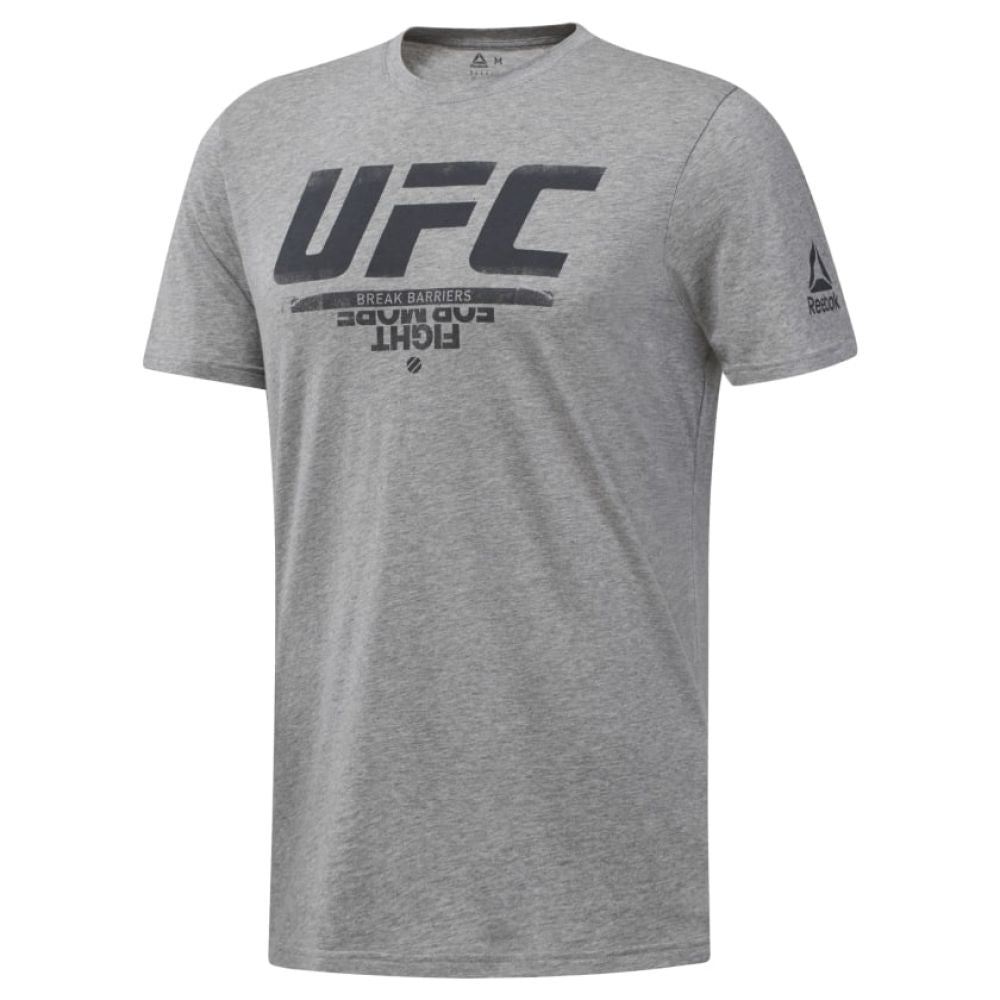 Reebok UFC Fan Gear Logo Tee - Grey