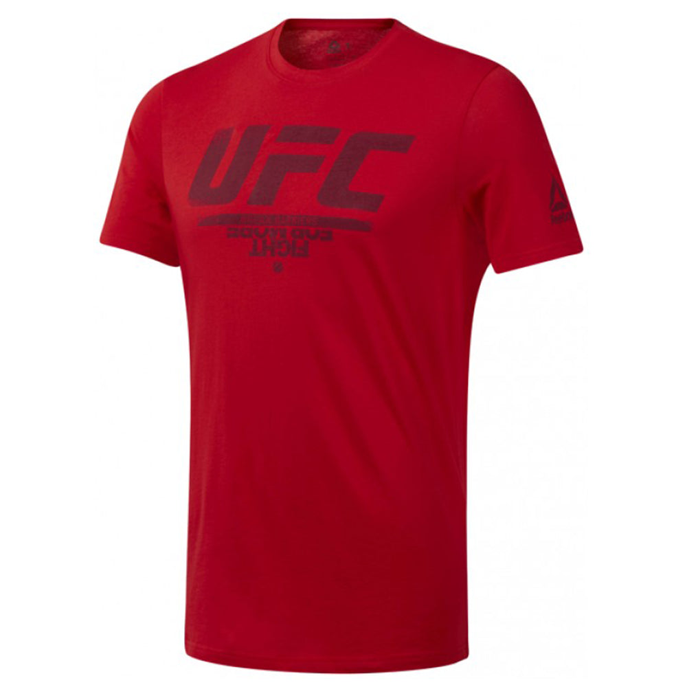 Reebok UFC Fan Gear Logo Tee - Red