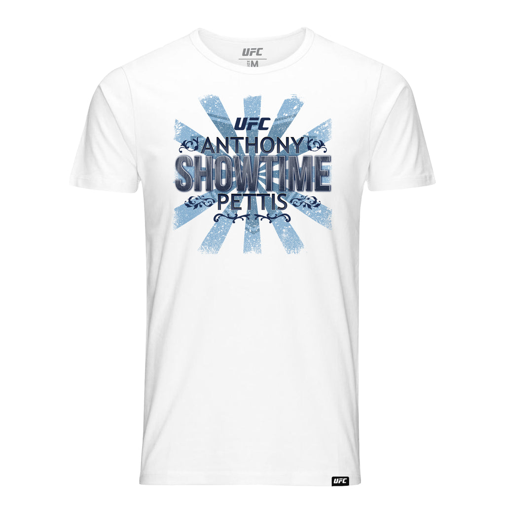 "Anthony ""SHOWTIME"" Pettis Graphic T-Shirt - White"