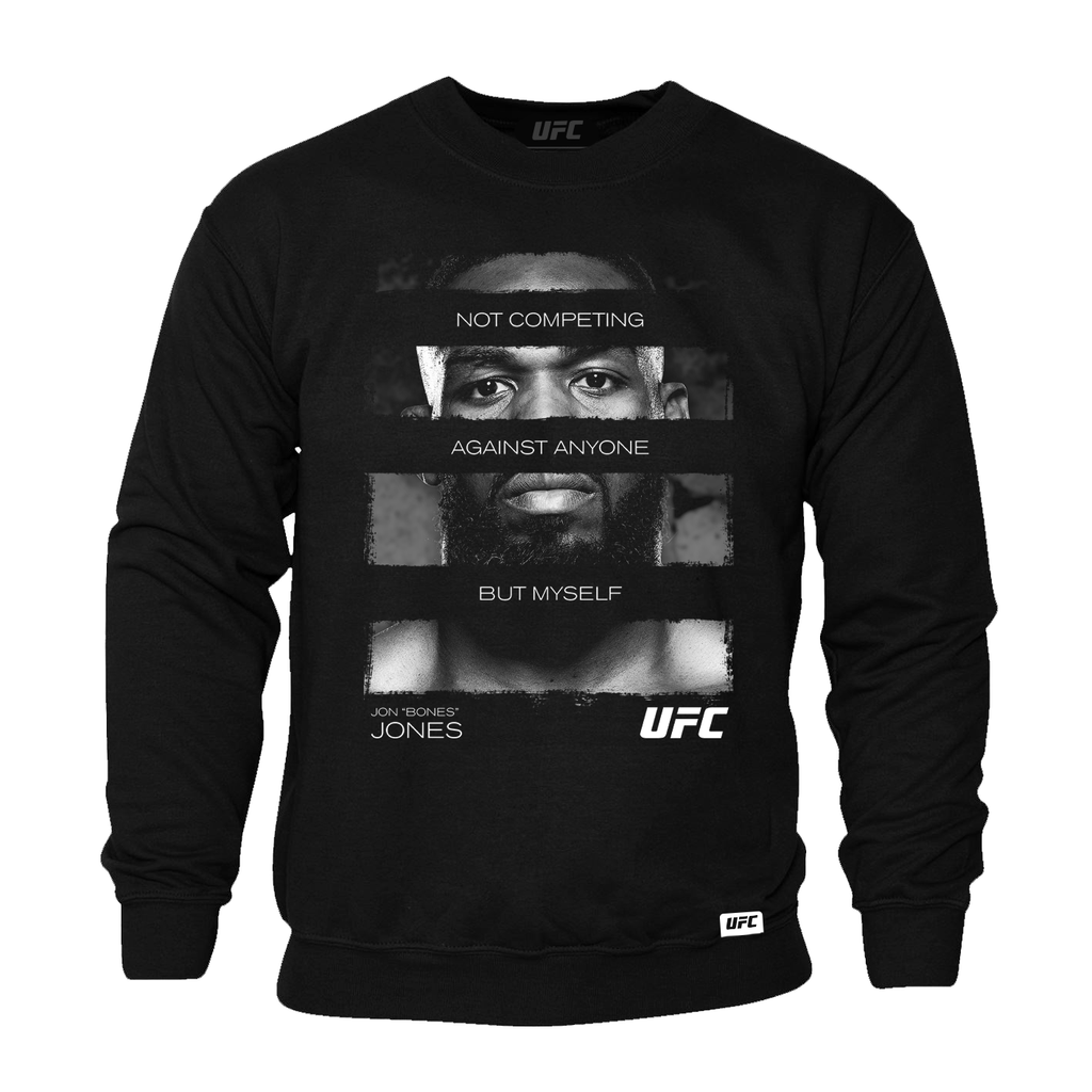 "Jon ""Bones"" Jones Quote Sweatshirt- Black"