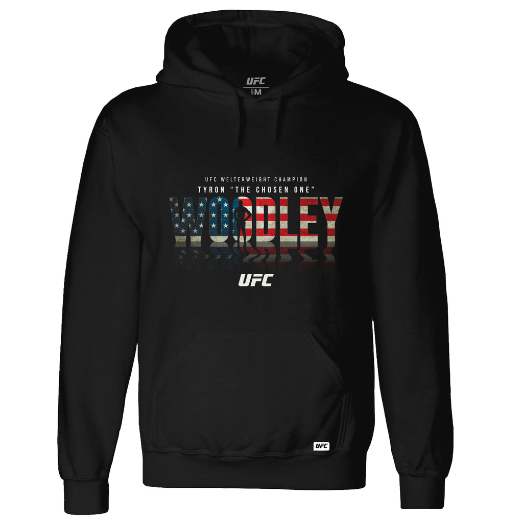 "UFC Tyron ""The Chosen One"" Woodley Champion Shadow Hoodie"