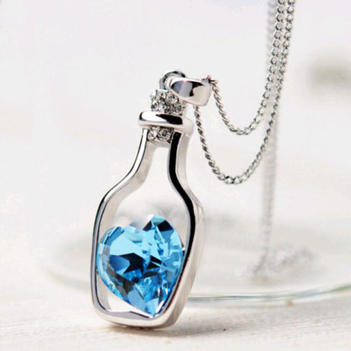 Heart in a Bottle - Necklace