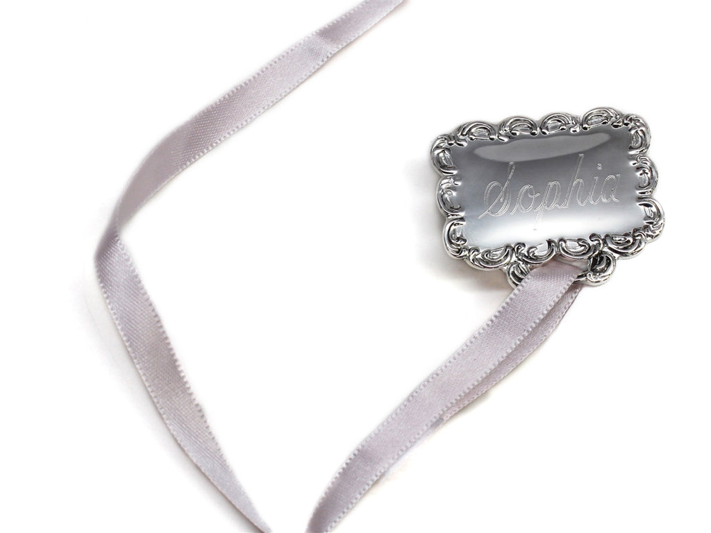 Engraved Baby Pacifier Holders - Allyanna Gifts