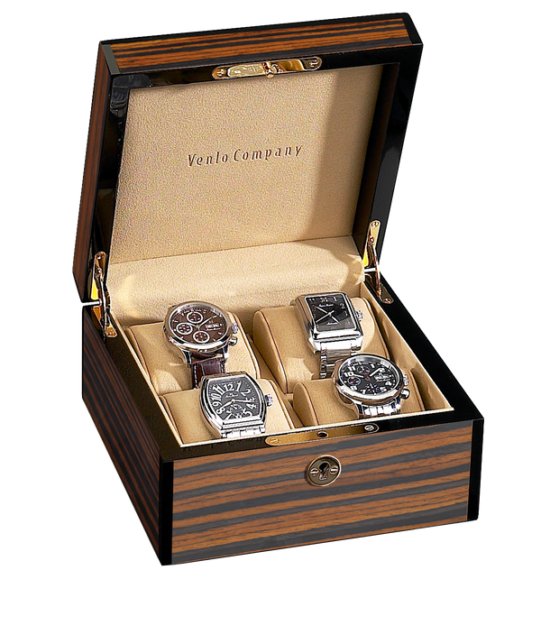 4 Watch Case Ebony