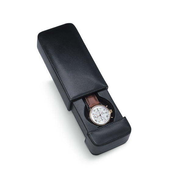 Milano 1 Watch Travel Case Italian Leather Collection