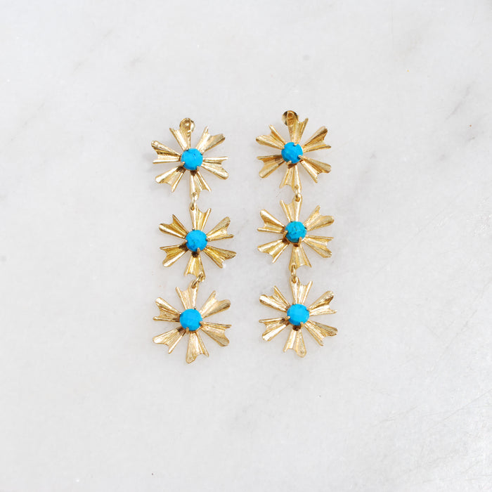 Turquoise Allie Earrings