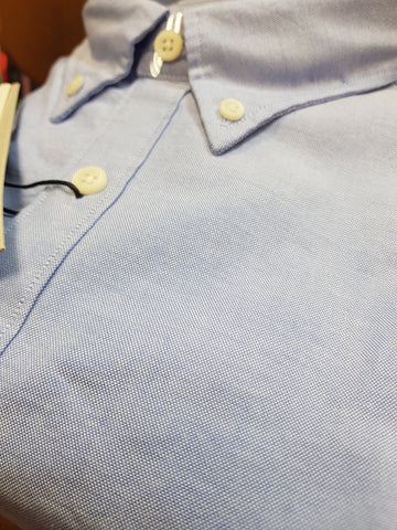 Collect Cotton Blue Casual Shirt By Selected