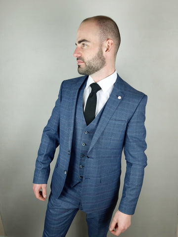 Hoffman 3 Piece Suit By 6th Sense