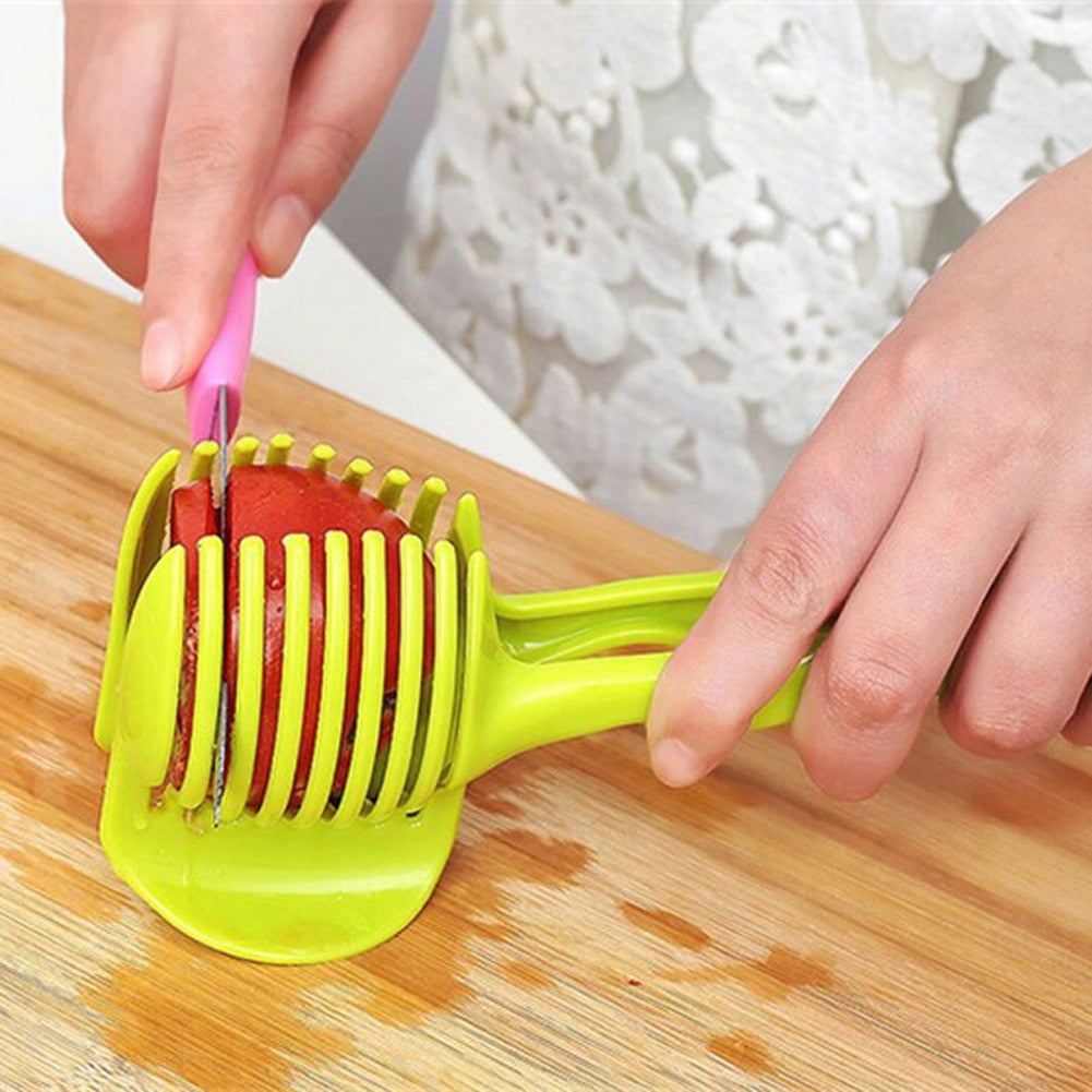 Tomato Lemon Vegetable, Fruit Holder Slicer