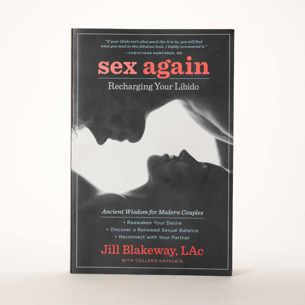 Front cover of Jill Blakeway's book Sex Again: Recharging Your Libido