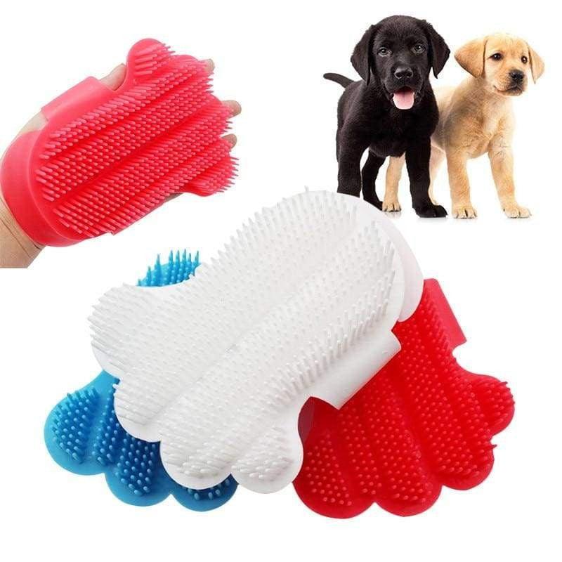 Comfortable Pet Touch Bath Massage Brush Glove For Dogs Cat | Uspetsuper store