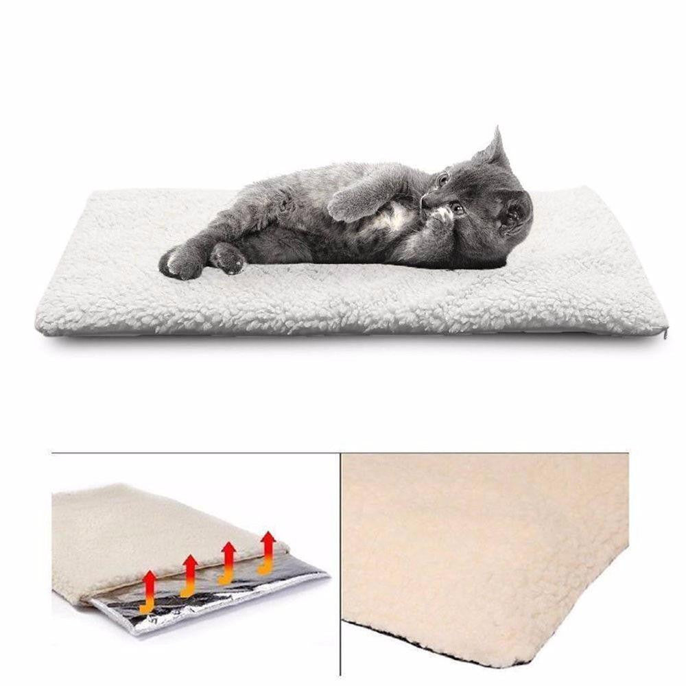 Self Heating Blanket for Dog Cat Pets Washable Bed in Winter | Uspetsuper store