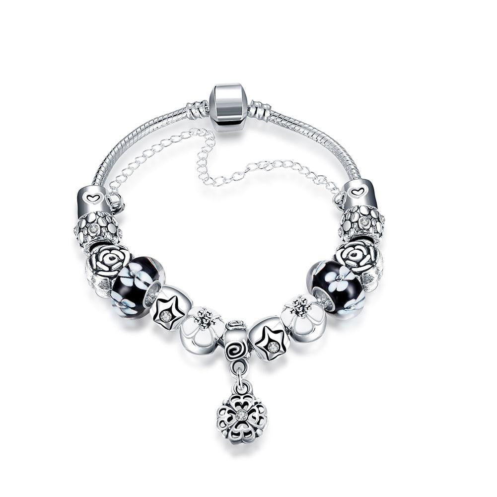 London Inspired Classic Pandora Inspired Bracelet Made with Swarovski Elements - CharmToSpare