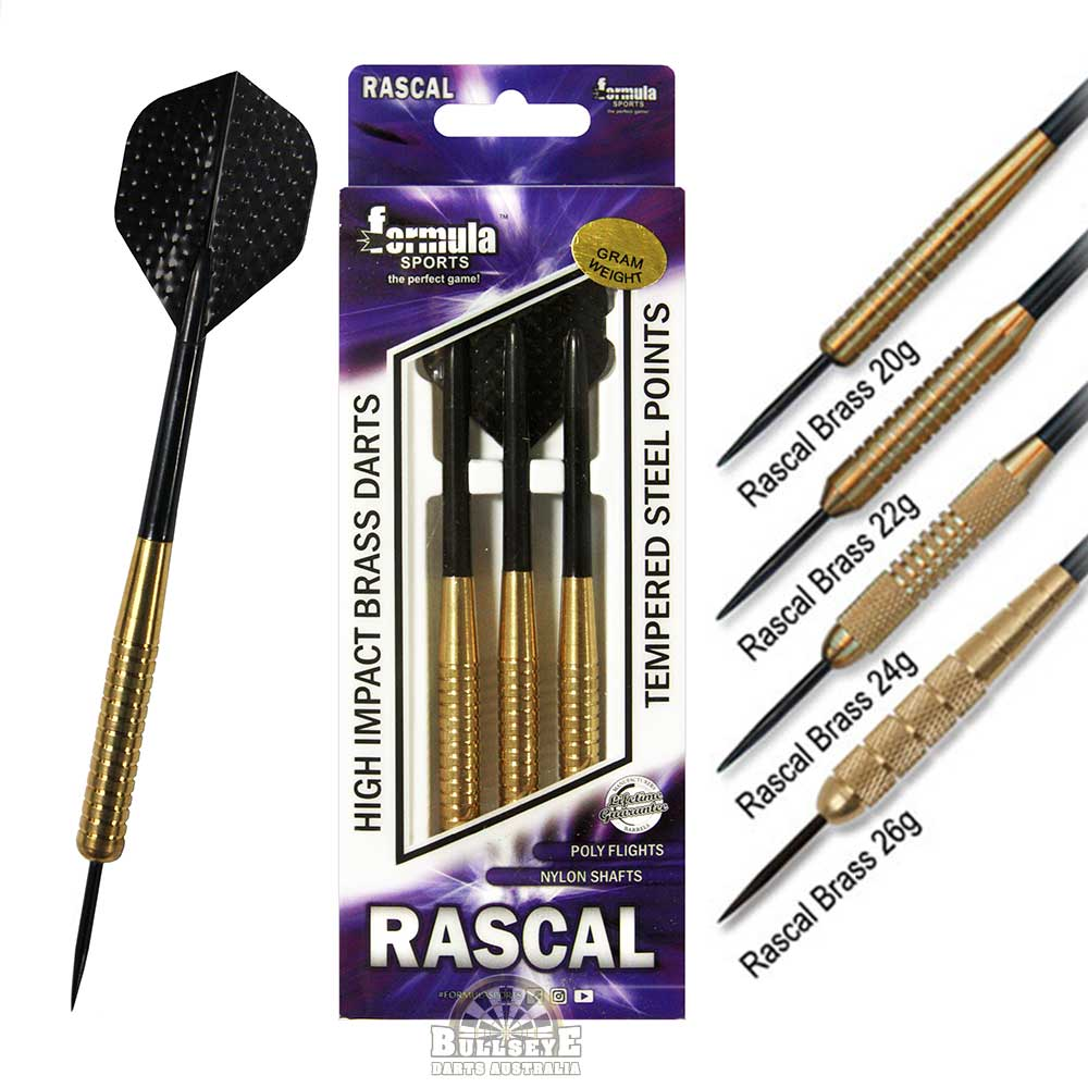 Formula Rascal High Impact Brass Darts