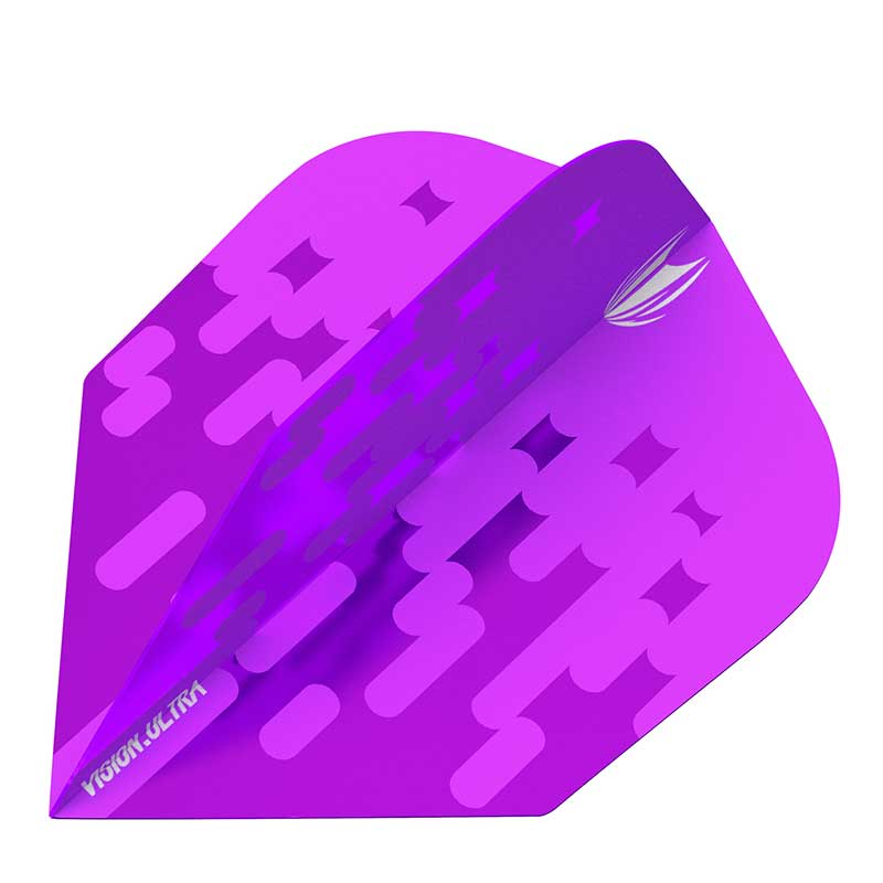 Target Arcade Flights NO6 Shape - Purple