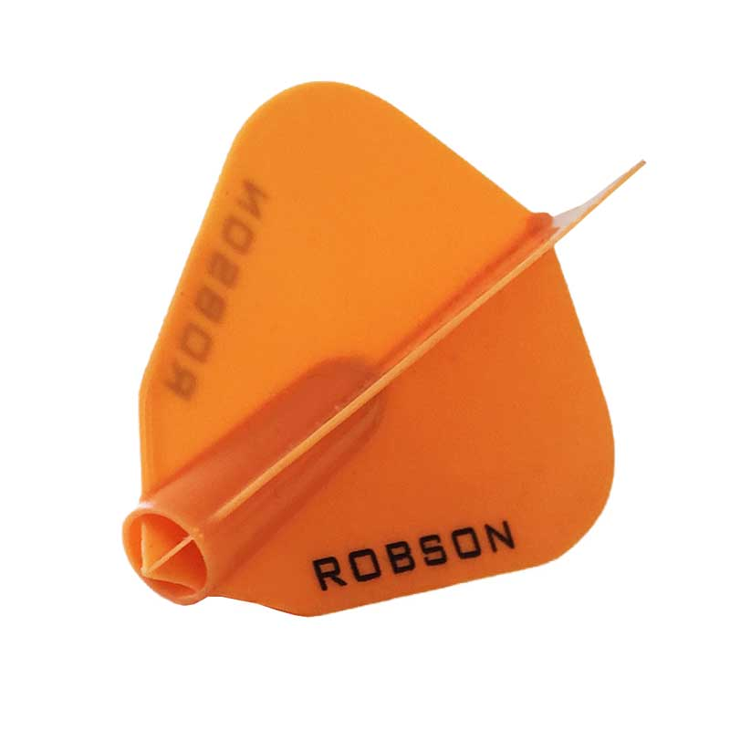 Robson Plus Dart Flights Kite F Shape - Orange