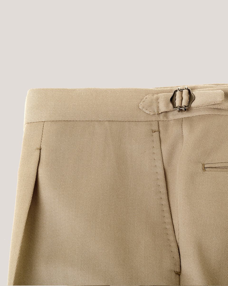 Light covert cloth tan